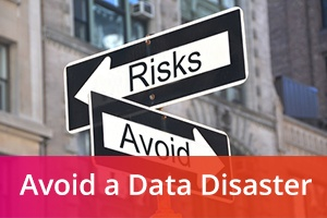Street signs with risks and avoid