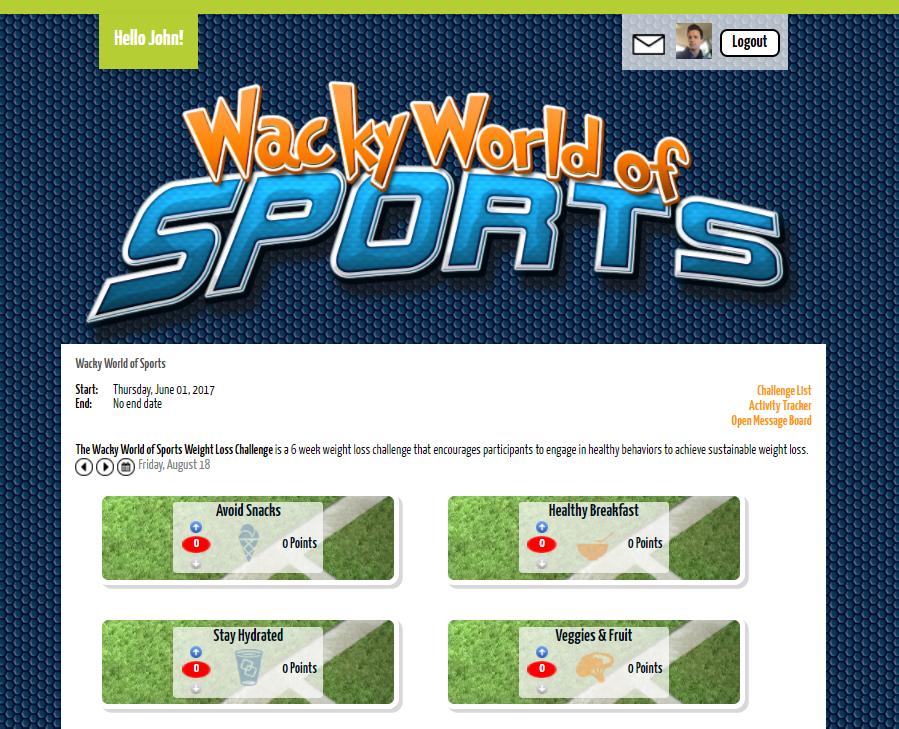 Sports Challenge screenshot